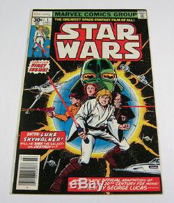 Star Wars #1 Classic 1st Issue! 1st Print High Grade NM MARVEL COMICS 1977 III