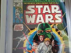 Star Wars #1 Comic Book July 1977 Graded Cgc 9.8