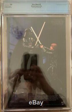 Star Wars #1 John Tyler Christopher C2E2 B&W Variant CGC 9.8