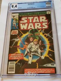 Star Wars #1 (Jul 1977, Marvel) CGC 9.4