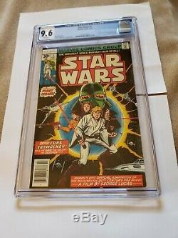 Star Wars #1 (Jul 1977, Marvel) CGC 9.6