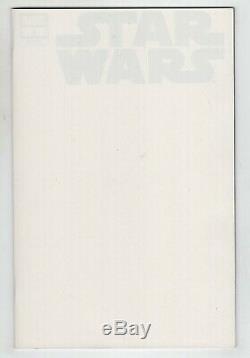 Star Wars 1 Marvel 2020 NM Blank Thor Error Double Cover Variant