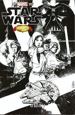 Star Wars #1 Marvel 57 Different Cover Variant Set/Lot Sketch + Bonus Vader