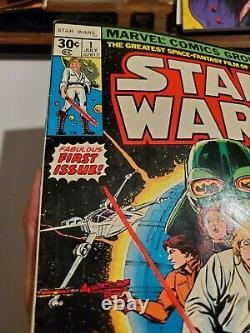 Star Wars #1 Marvel Comics 1977 1st Print! Chaykin Thomas A New Hope A337