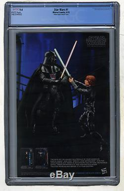 Star Wars #1 RRP C2E2 Action Figure Sketch Variant Cover CGC 9.4 RARE HTF Jedi