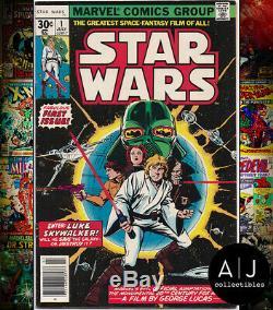 Star Wars #1 VF/NM 9.0 (Marvel) 1977 First Print