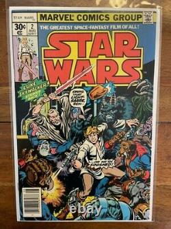 Star Wars 1 and 2 Bronze Age First Appearance Key Comic Books 1977