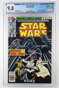 Star Wars #21 -NEAR MINT- CGC 9.8 NM/MT Marvel 1979 1st Original Vader Story