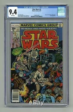 Star Wars #2 1st Printing CGC 9.4 1977 1568475045