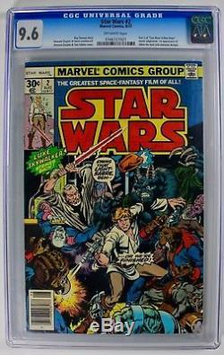 Star Wars #2 (Aug 1977, Marvel) CGC 9.6