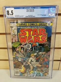 Star Wars #2 CGC 8.5 (Marvel Comics 1977) First Printing 1st Print