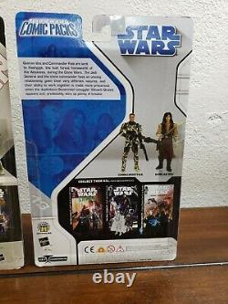 Star Wars 30th Anniversary Exp Universe Figures COMIC PACKS A'Sharad Hett + Lot