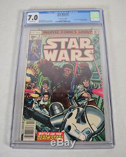 Star Wars 3 Marvel 1977 CGC 7.0 35 Cent Variant 1st Print