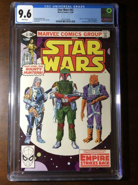 Star Wars #42 (1980) 1st Boba Fett! Cgc 9.6! Key! White Pages