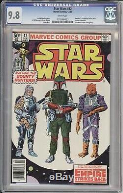 Star Wars #42 1980 CGC 9.8 1st Appearance of Boba Fett (Mandalorian)