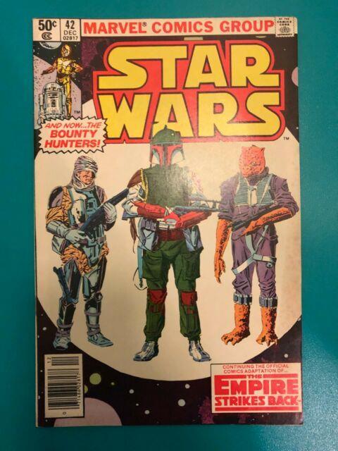 Star Wars #42 1980 Empire Strikes Back 1st Boba Fett Yoda Marvel Nm