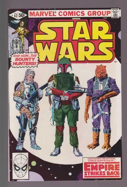 Star Wars # 42 1st App. Boba Fett The Bounty Hunter! Grade 9.0 Scarce Book