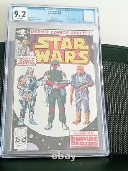 Star Wars #42 CGC 9.2 1st Boba Fett Disney White pages
