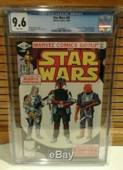 Star Wars #42 CGC 9.6 1st Boba Fett Dec 1980 Marvel Pt 4 Empire Strikes not 9.8