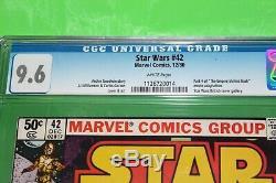 Star Wars 42 CGC 9.6 1st Boba Fett & IG-88 1st Mandalorian character Disney+