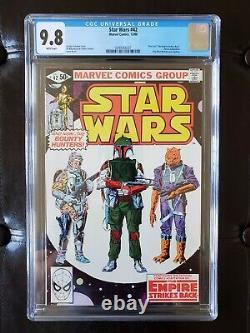 Star Wars # 42 CGC 9.8 First Boba Fett Marvel Comics 1980