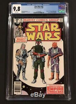 Star Wars # 42 CGC 9.8 WHITE Pages NEWSSTAND (!) 1st Appearance BOBA FETT