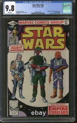 Star Wars #42 CGC 9.8 (W) Bobba Fett The Empire Strikes Back
