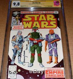 Star Wars #42 CGC SS 9.8 SIGNED Jeremy Bulloch Marvel 1980 1st app Boba Fett