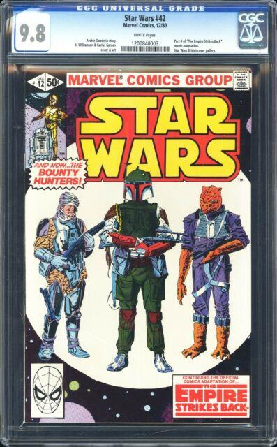 Star Wars 42 Cgc 9.8 White Pages! 1st App Of Boba Fett