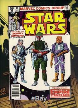 Star Wars #42 December 1980 1st appearance Boba Fett! Marvel Comics