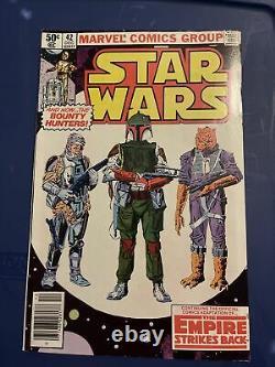Star Wars #42 Marvel Comics 1980 Boba Fett. Rare