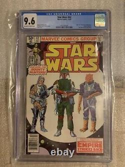 Star Wars #42 Newsstand 1st Boba Fett, IG-88, More! CGC9.6 NM+ Marvel Comic 1980