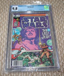 Star Wars 49 Cgc 9.8 Wp The Last Jedi Story Line Title Of Episode 8 (viii) Movie