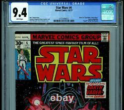 Star Wars #4 CGC 9.4 NM 1977 Marvel Comics Amricons K21