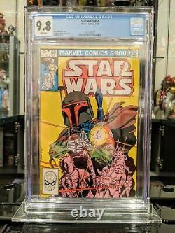 Star Wars #68 CGC 9.8 1st Mandalorian and Origin of Boba Fett White Pages