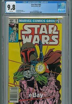 Star Wars 68 CGC 9.8 Boba Fett Leia Han Solo Luke Skywalker Marvel Movie Rebels
