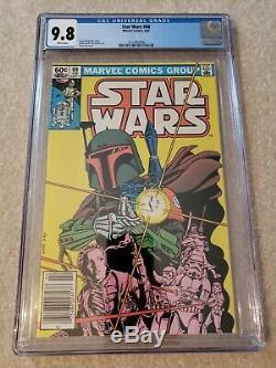 Star Wars 68 CGC 9.8 Marvel comics Boba Fett