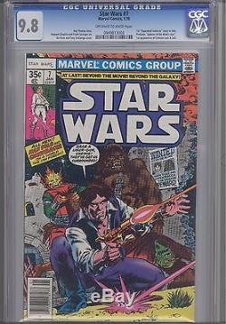 Star Wars #7 CGC 9.8 1978 Marvel Comic First Print