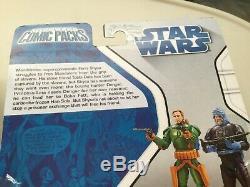 Star Wars Action Figure 3.75 Mandalorian Montross Mereel Comic Packs #2 #68