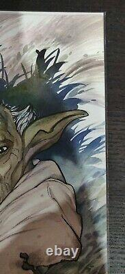 Star Wars Adventures Clone Wars #1 Peach Momoko Yoda Virgin Variant