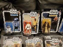 Star Wars Black Series 40th Anniversary set with comic con exclusives NM/MT