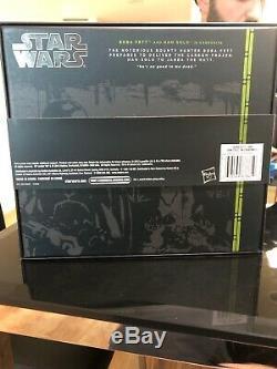 Star Wars Black Series Comic Con 6 Boba Fett And Han Solo In Carbonite NIB