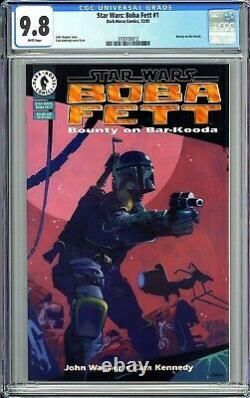 Star Wars Boba Fett #1 CGC 9.8 White Pages (1995) Mandalorian Hot Key