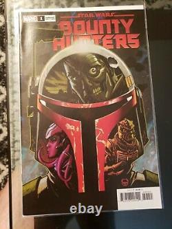 Star Wars Bounty Hunters #1 150 Dave Johnson Variant Boba Fett 1st Nakano Lash