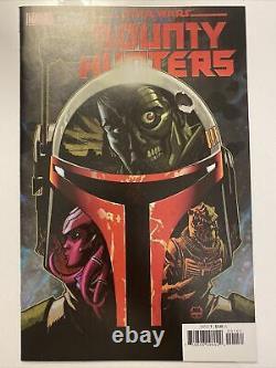 Star Wars Bounty Hunters #1 150 Johnson Variant 9.4nm Marvel Comics 2020