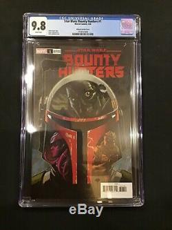 Star Wars Bounty Hunters #1 Johnson Variant CGC 9.8