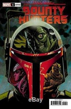 Star Wars Bounty Hunters #1 Johnson Variant Cover 150 Boba Fett Comic Book 2020