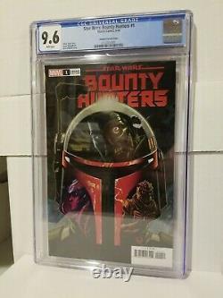 Star Wars Bounty Hunters 1 Marvel Comics 5/20 150 Johnson Variant Cgc 9.6 Nm+