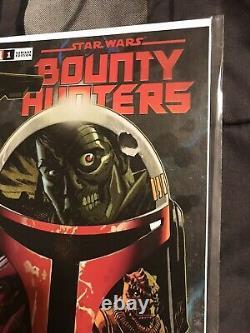 Star Wars Bounty Hunters #1 NM Johnson Variant (150) Boba Fett VHTF L@@K