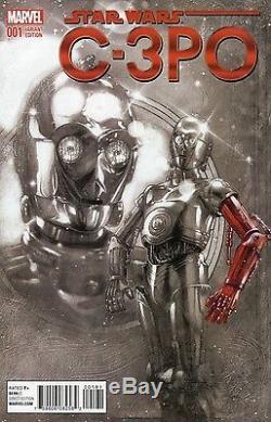 Star Wars C-3PO #1 Tony Harris 11000 Spotlight Sketch Variant Marvel NM